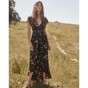 Christy Dawn Autumn Dress in Night Floral, M